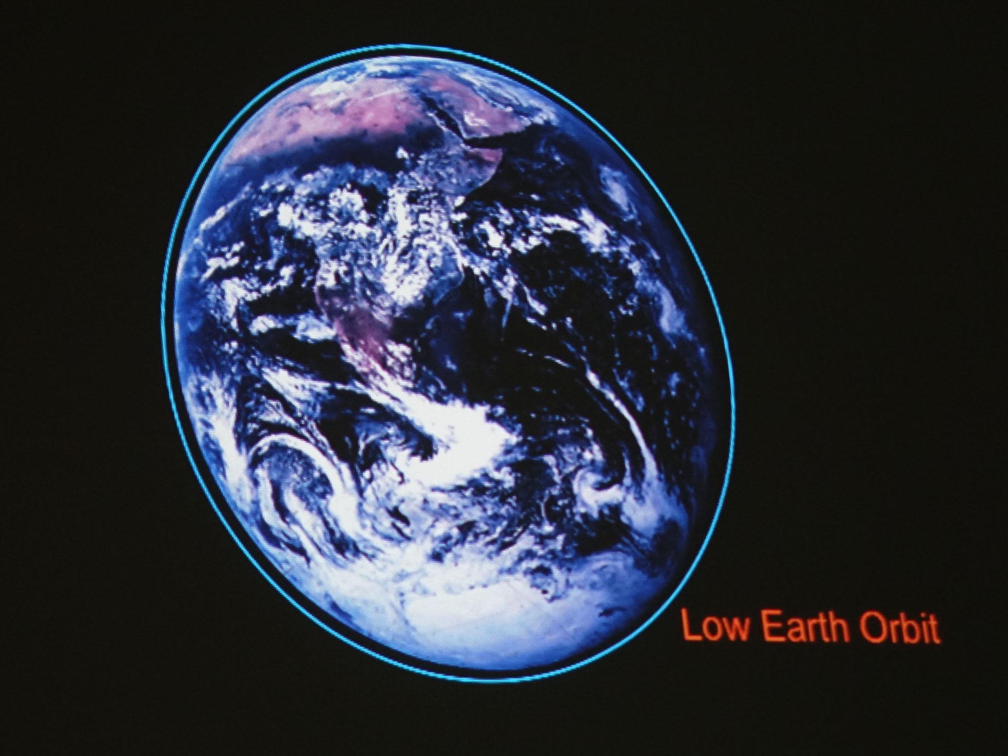 low earth orbit freefall - photo #15
